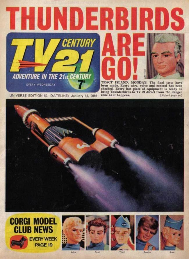 52 TV 21 Was The Go Ahead Comic Of The 1960s