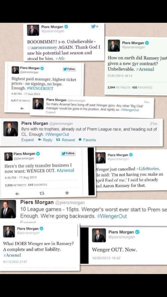 Piers Morgans fails