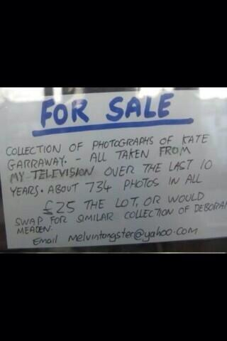 for sale For Sale: Huge Collection Of Kate Garraway Photos Taken From The TV