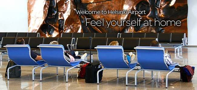helsinki Airport Helsinki Airport: Feel Yourself At Home