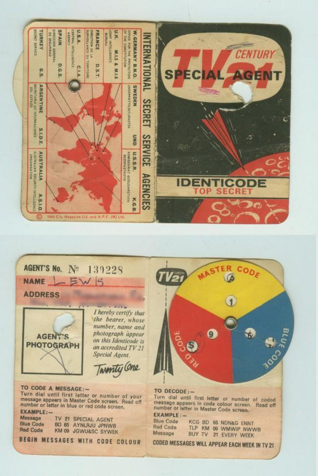 identicode TV 21 Was The Go Ahead Comic Of The 1960s