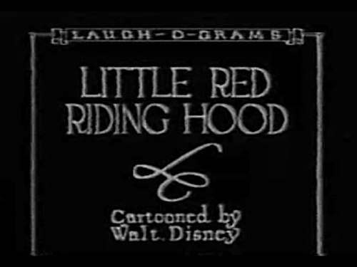 laugh o gram Disneys Laugh O Grams Films   Little Red Riding Hood (1922)