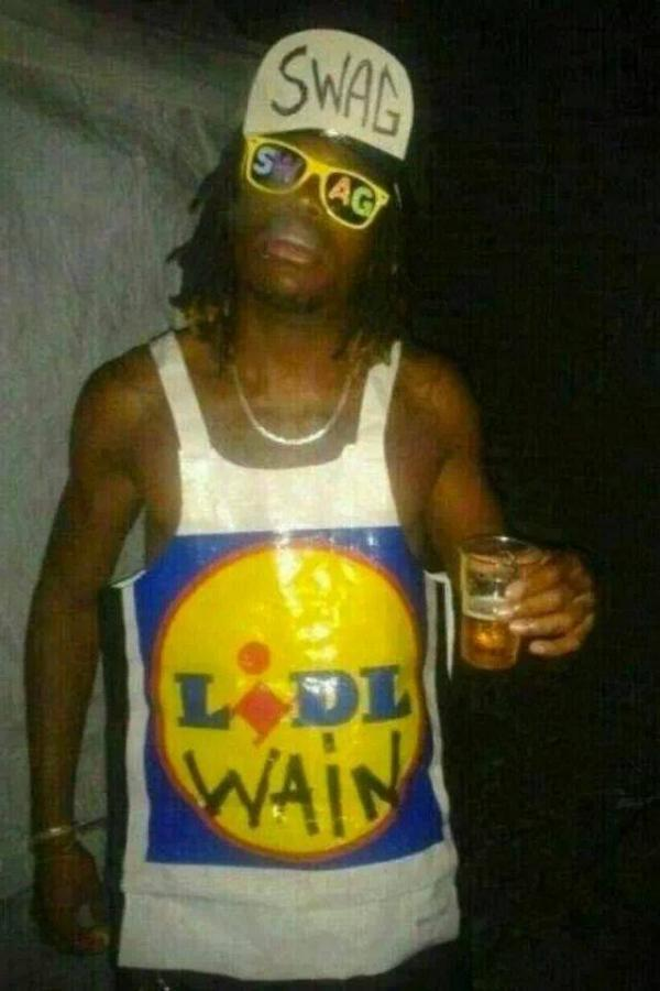 lidle wain Epic Puns: The Lidl Wain Costume