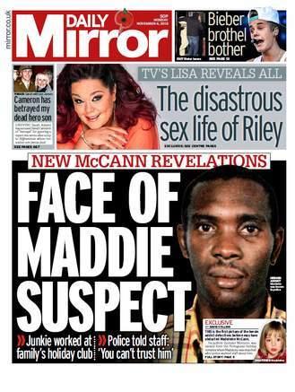 maddie suspect