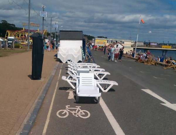 paignton Britains Worst Cycle Lanes: Photos of That Olympics Legacy In Action