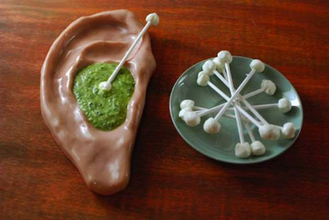 pasta pesto Objects Of Desire: Pesto Sauce Served On Cheese Ear Buds
