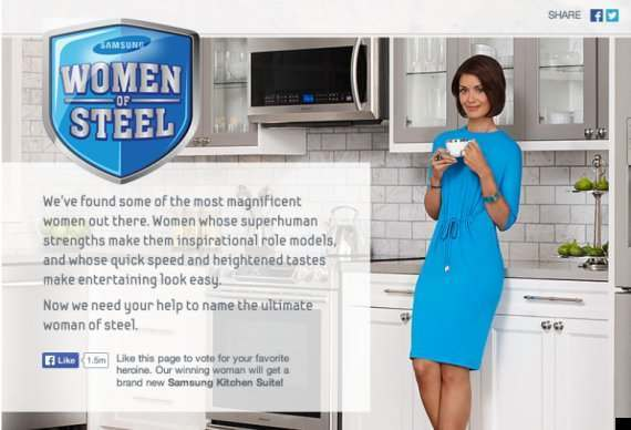 samsung women of steel