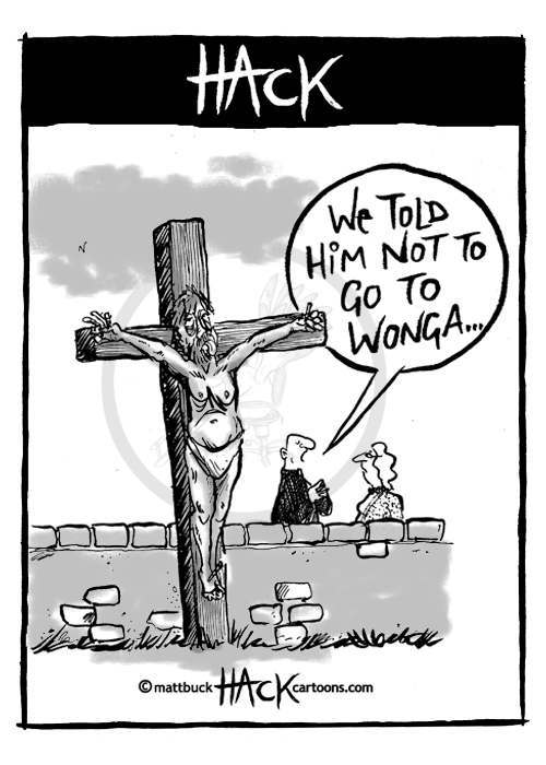 welby wonga Cartoon: Justin Welby Goes To Wonga