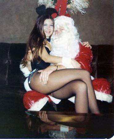 Santa and His Bunny
