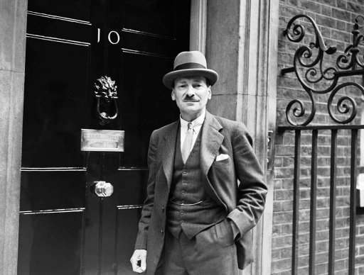 Following Chancellor Adolf Hitler's long awaited address at the Nuremberg Nazi Congress closing session on September 12, in which he said he would not tolerate a new Palestine in Europe, demanded autonomy for the Sudeten Germans, referred to Gigantic Fortifications on the German western frontier, were followed on September 13 in London, England, with discussions at number 10 Downing Street between Premier Neville Chamberlain and ministers of his Majesty's government. One of the visitors was leader of the opposition Mr. C.R. Attlee. Leader of the opposition Mr. C.R. Attlee arriving at No. 10 Downing Street, London, England on Sept. 13, 1938. Neville Chamberlain latest developments in the Czech situation
