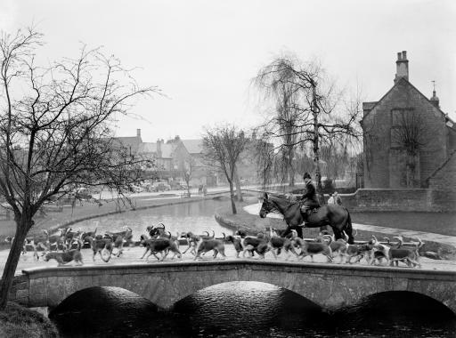 Customs and Traditions - Fox Hunting - Bourton-on-the-Water