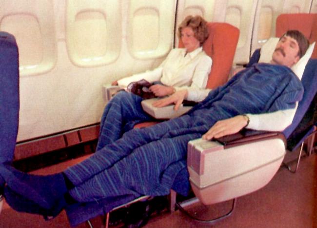 LEG ROOM AIRLINE VINTAGE
