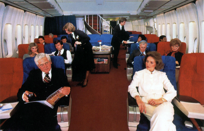 air travel vintage