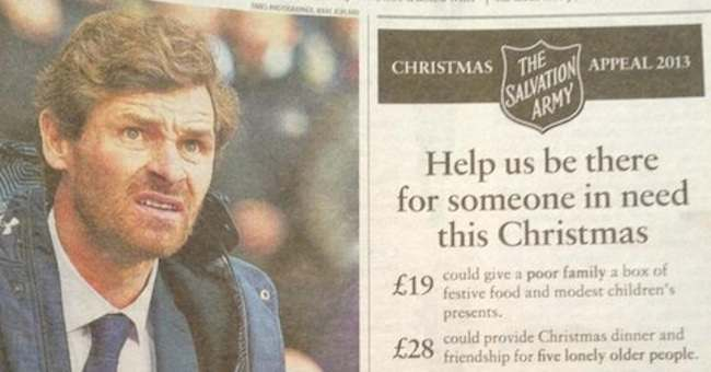 AVB  Spurs Balls: Andre Villas Boas Needs The Salvation Army