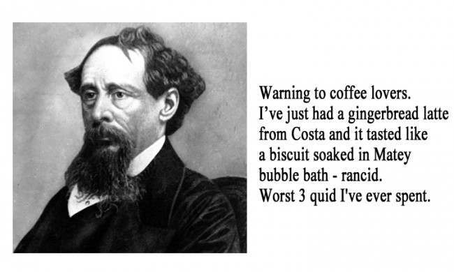 Charles Dickens 21 Facebook Status Updates Made Into Inspirational Quotes