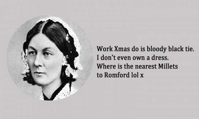 Florence Nightingale 21 Facebook Status Updates Made Into Inspirational Quotes