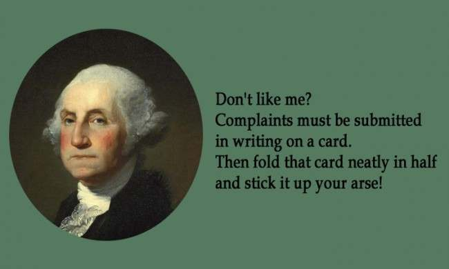 George Washington 21 Facebook Status Updates Made Into Inspirational Quotes