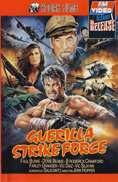 Guerilla 10 Wonderfully Insane VHS Action Movie Covers