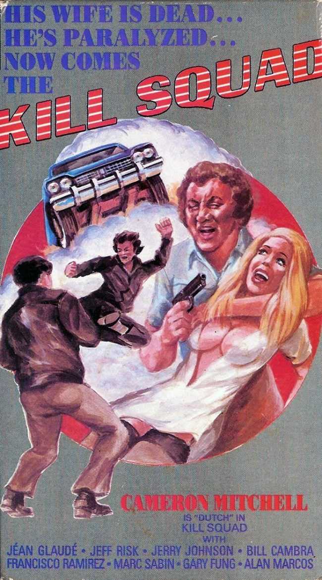 KILL SQUAD 10 Wonderfully Insane VHS Action Movie Covers