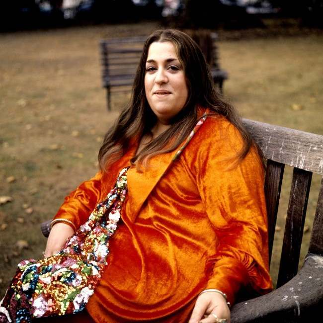 Mama Cass Elliot in London. Barratts/S&G Barratts/EMPICS Archive