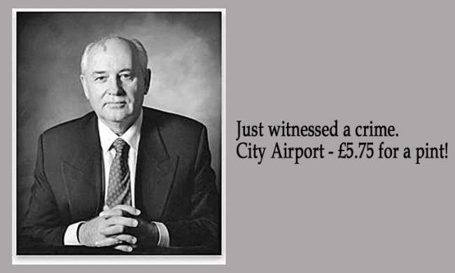 Mikhail Gorbachev 21 Facebook Status Updates Made Into Inspirational Quotes