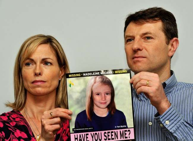 PA 17829018 Madeleine McCann: Aktenzeichen XY…Ungelöst And The Christmas Lights