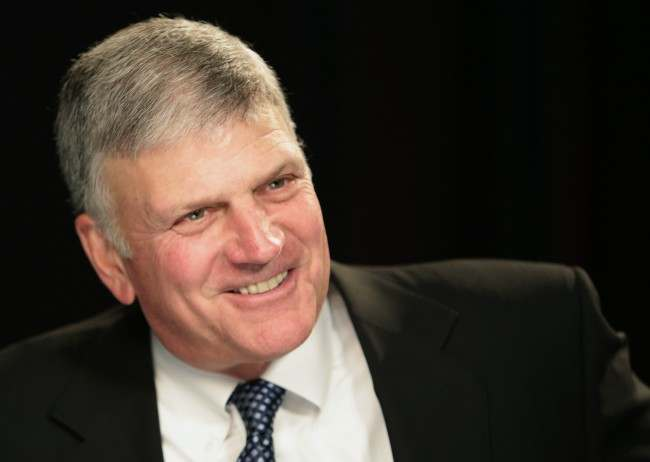 PA 18157989 Franklin Graham Says God Is The Only Judge' On Homosexuality And Its A Sin