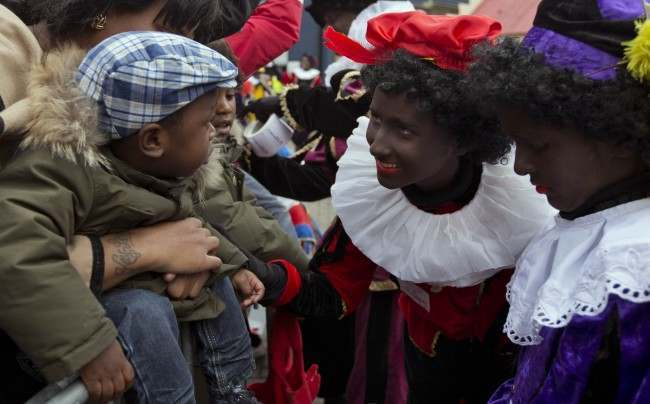 PA 18228577 Zwarte Piet Must Die: Black Pete And His White Angel Are Coming To Get You This Christmas