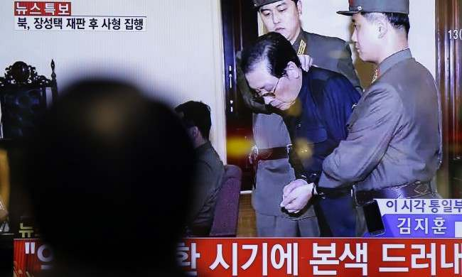 PA 18461706 North Korea Executes Kim Jong uns Despicable Human Scum Of An Uncle
