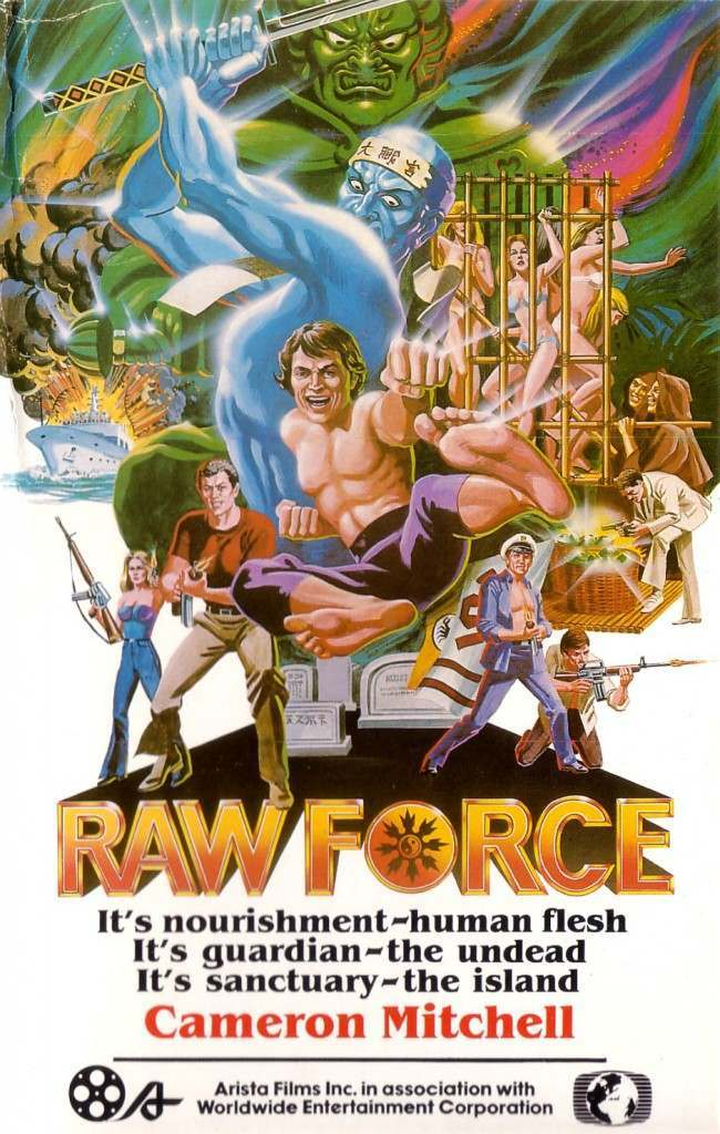 RAW FORCE 10 Wonderfully Insane VHS Action Movie Covers