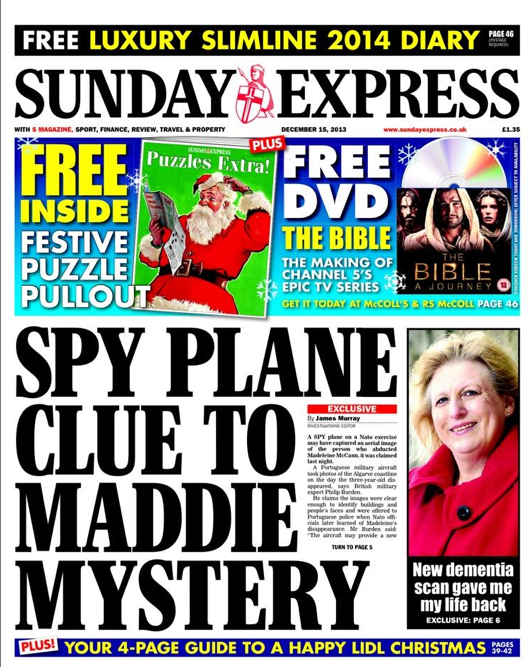 Screen shot 2013 12 15 at 07.52.50 Madeleine McCann: The UFO Spy Plane Theory
