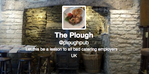 Screen shot 2013 12 16 at 17.19.19 Sacked Oxford Chef Uses Pubs Twitter To Claim All Food Comes From Asda