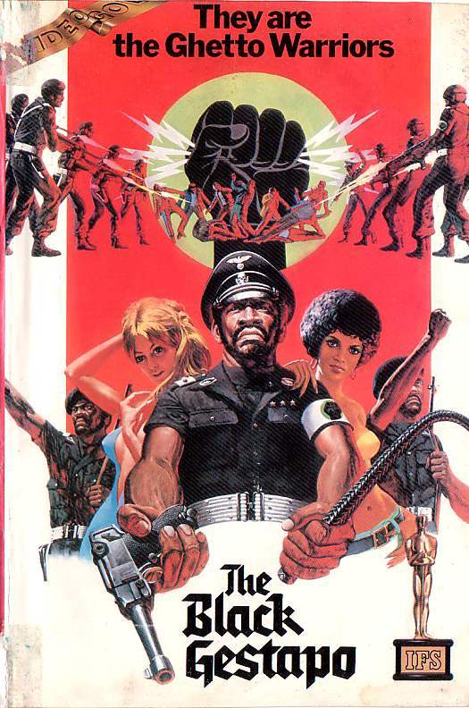 THE BLACK GESTAPO 10 Wonderfully Insane VHS Action Movie Covers