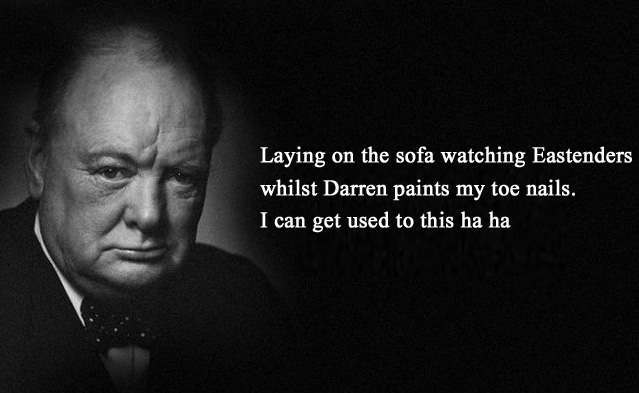 churchill dude essay Painting as a pastime [1948] (cohen a235) (woods a125) churchill's charming essay about his painting hobby first appeared in the strand magazine in two parts.