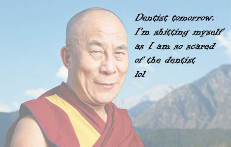 dalai lama 21 Facebook Status Updates Made Into Inspirational Quotes