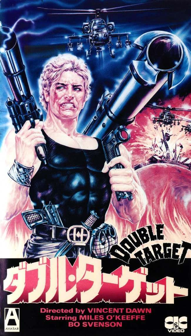 double target 10 Wonderfully Insane VHS Action Movie Covers