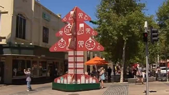 geelong christmas tree