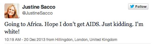 justine sacco aids