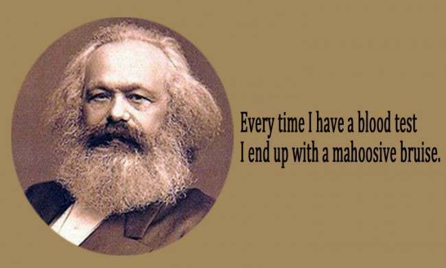 karl marx 21 Facebook Status Updates Made Into Inspirational Quotes