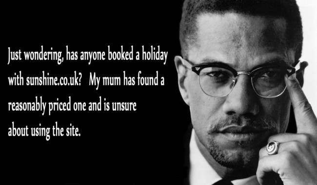 malcolm x 21 Facebook Status Updates Made Into Inspirational Quotes