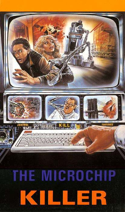 microchip killer 10 Wonderfully Insane VHS Action Movie Covers