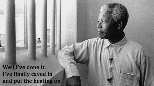 nelson mandela 21 Facebook Status Updates Made Into Inspirational Quotes