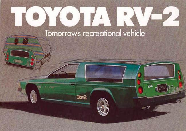 13 Epic Cars: The 1972 Toyota RV Passion Wagon