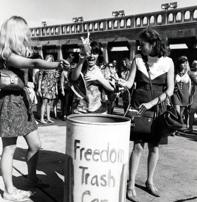 30 bra burning Dispatches From The 70s: Women's Lib Akin To An Irritating Rash