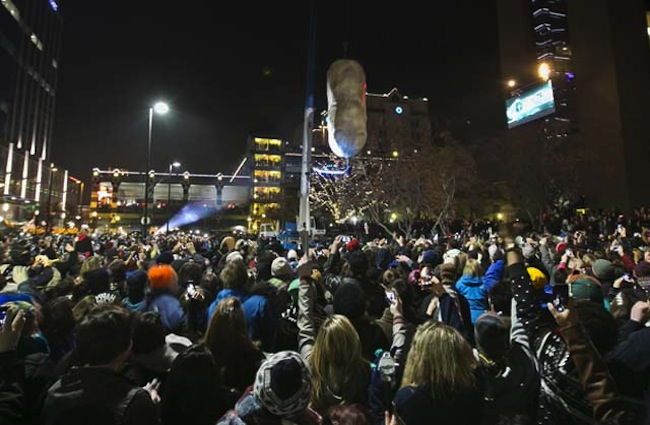 Boise potato drop