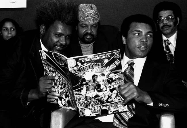 PA 4105298 In 1978 Muhammed Ali Boxed Marvin Gaye, Sammy Davis Junior, Richard Pryor   The Story And Some Great Photos