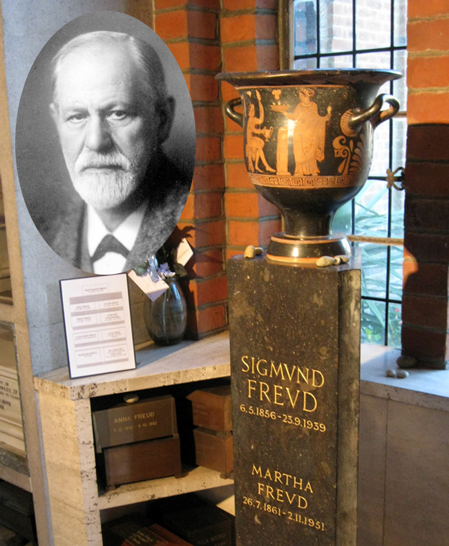 Sigmund Freud and Urn