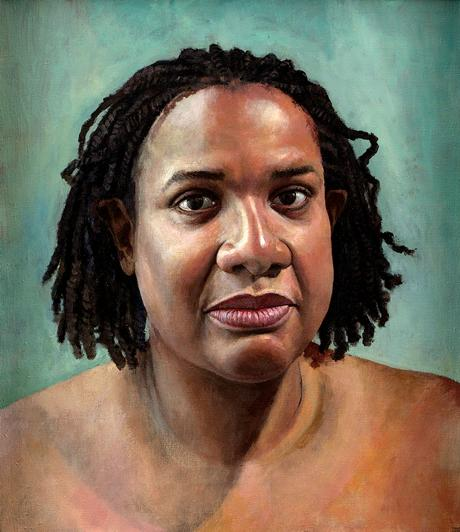 abbott Diane Abbotts Portrait Alludes To Her Role As Swimming Pool Tsar