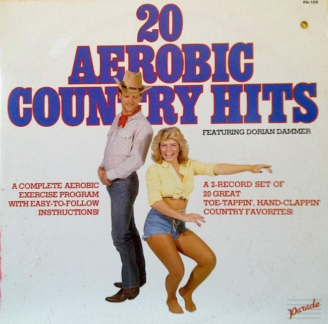 country aerobics 12 Impressively Bizarre and Ridiculous Fitness Records