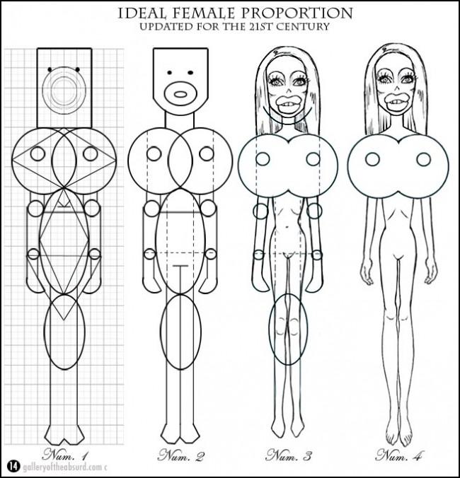 draw a woman